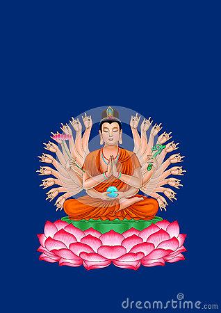Avalokitesvara Stock Illustrations.