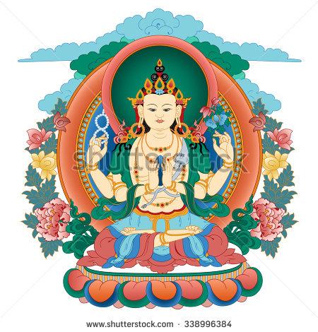 Bodhisattva Stock Vectors, Images & Vector Art.