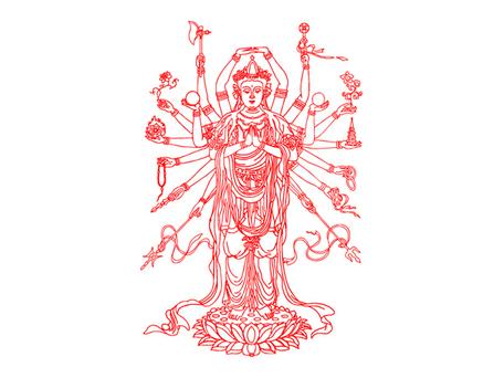 Avalokitesvara, Clip Art.