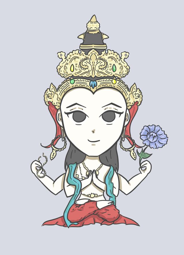 Avalokitesvara.