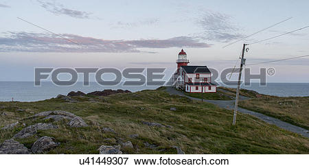 Picture of Ferryland Lighthouse, Calvert, Avalon Peninsula.
