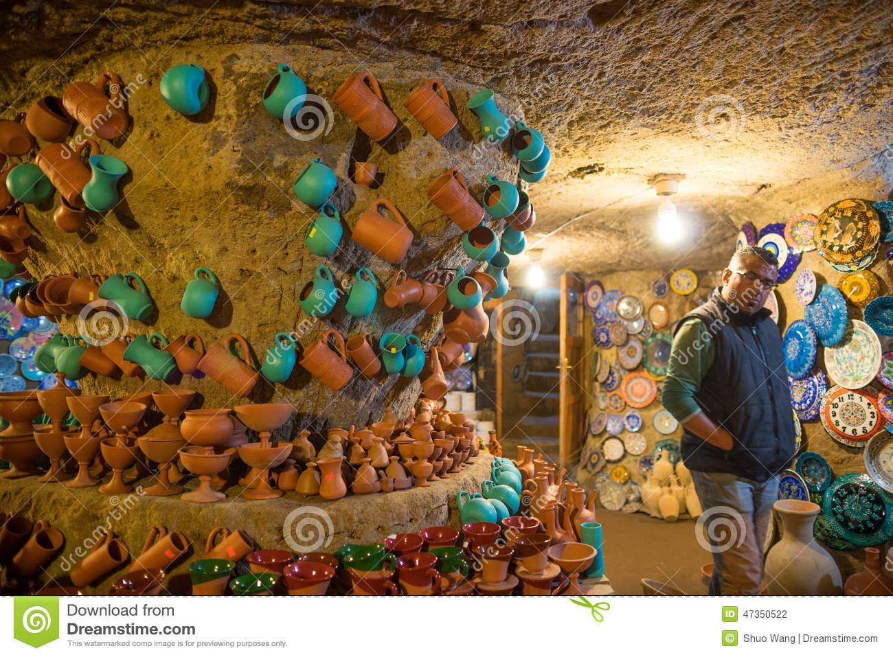 Avanos Pottery Workshop Editorial Photography.