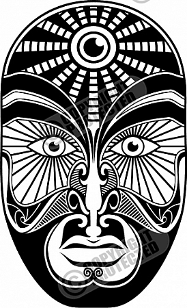 Avantgarde Vector Clipart Carving.