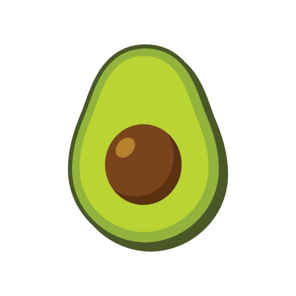 Avocado clipart 3 » Clipart Station.