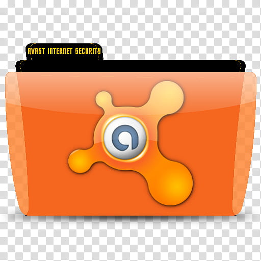 Colorflow x icons, Avast! Internet Security transparent.