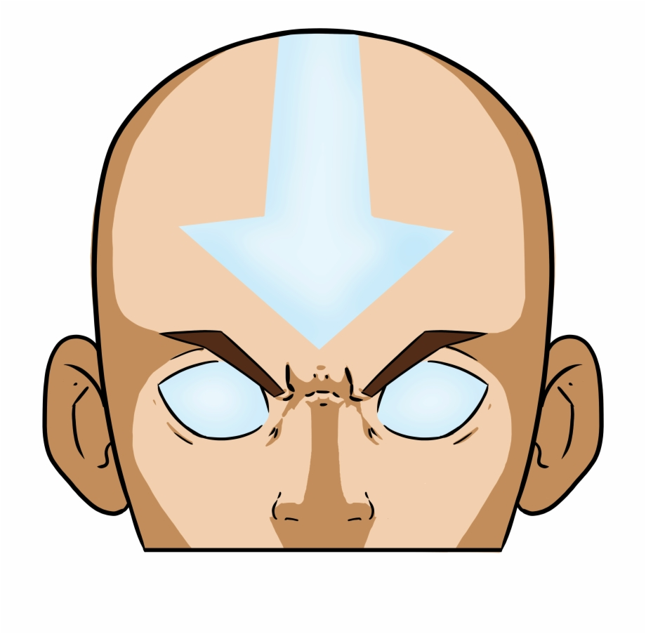 Aang Avatar State.