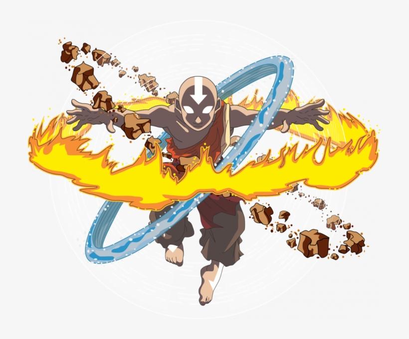Avatar Aang Estado Avatar Sin Fondo By Yuzumi2000.