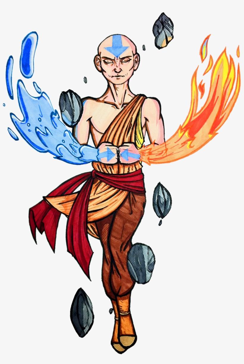 Avatar Aang.
