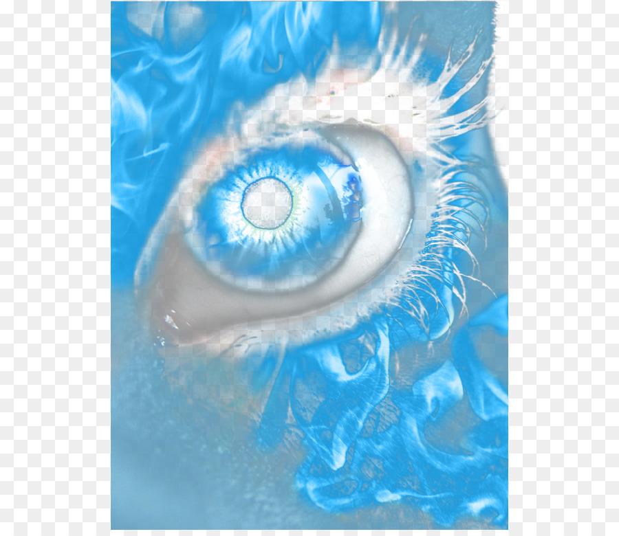 Iris Blue Sky Water Eye.