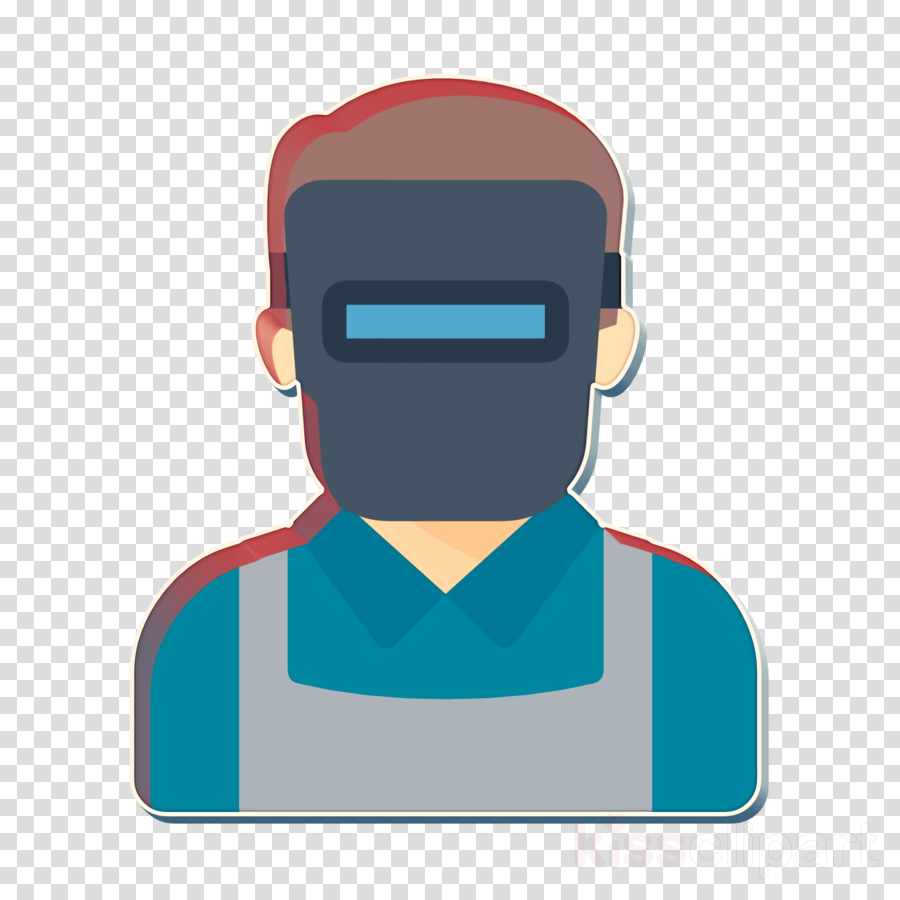 Welder icon Worker icon Color Professions Avatars icon.