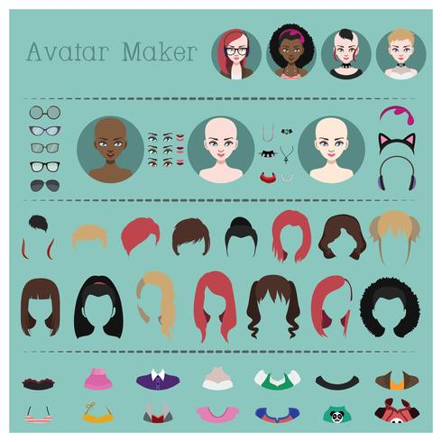 Woman avatar maker.