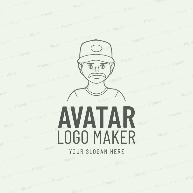 Custom Avatar Logo Maker a1170.