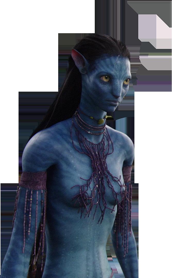 Avatar Movie Neytiri PNG Free Download.
