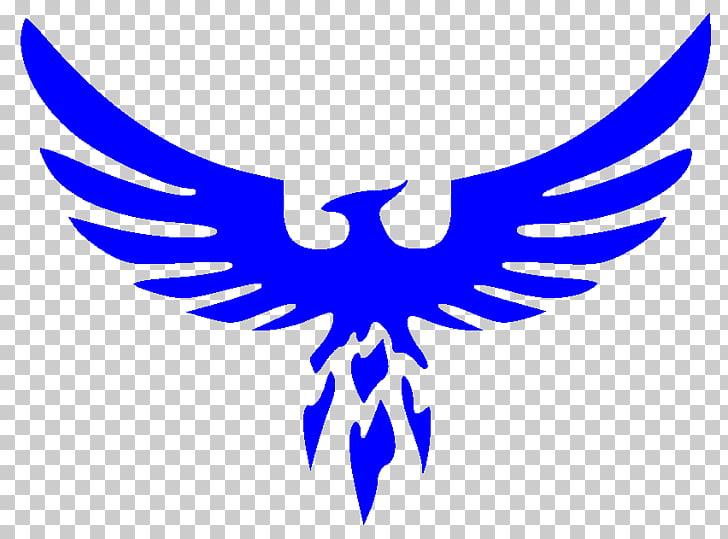 Logotipo místico del equipo pokemon, ave fénix, fondo fresco.