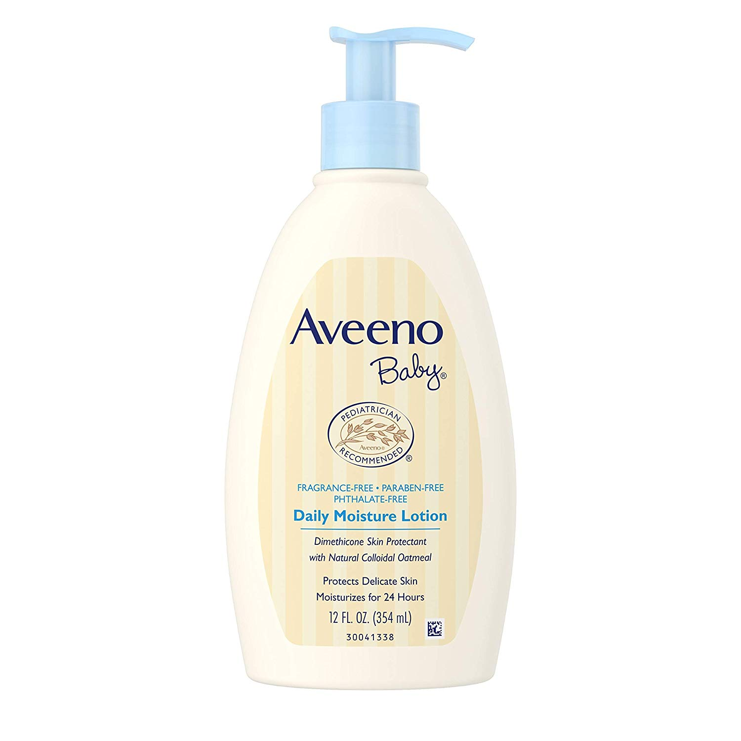 Aveeno Baby Daily Moisture Lotion with Natural Colloidal Oatmeal &  Dimethicone, Fragrance.