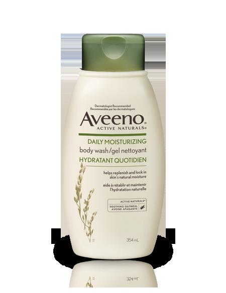 AVEENO® Daily Moisturizing Body Wash.