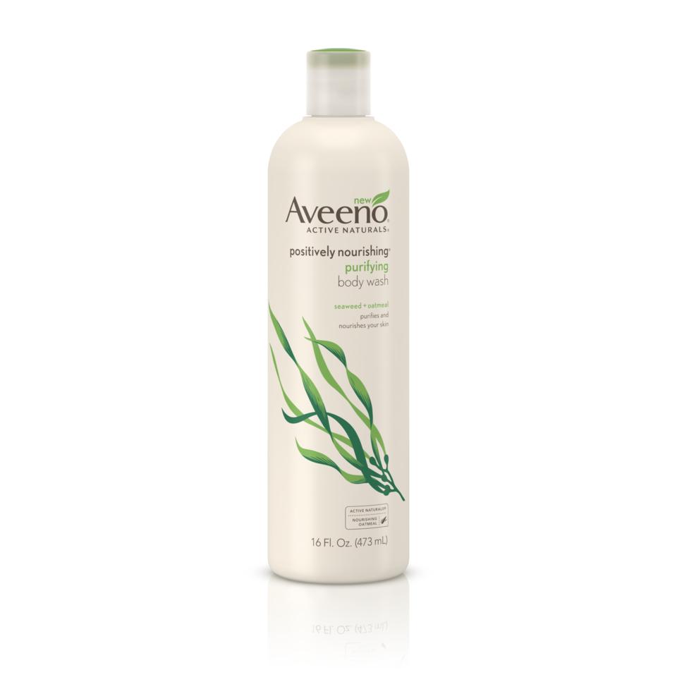 Aveeno Positively Nourishing Body Wash, 16 OZ.