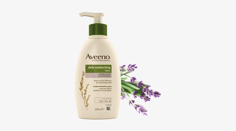 Picture Of Aveeno® Daily Moisturising Lotion With Lavender.