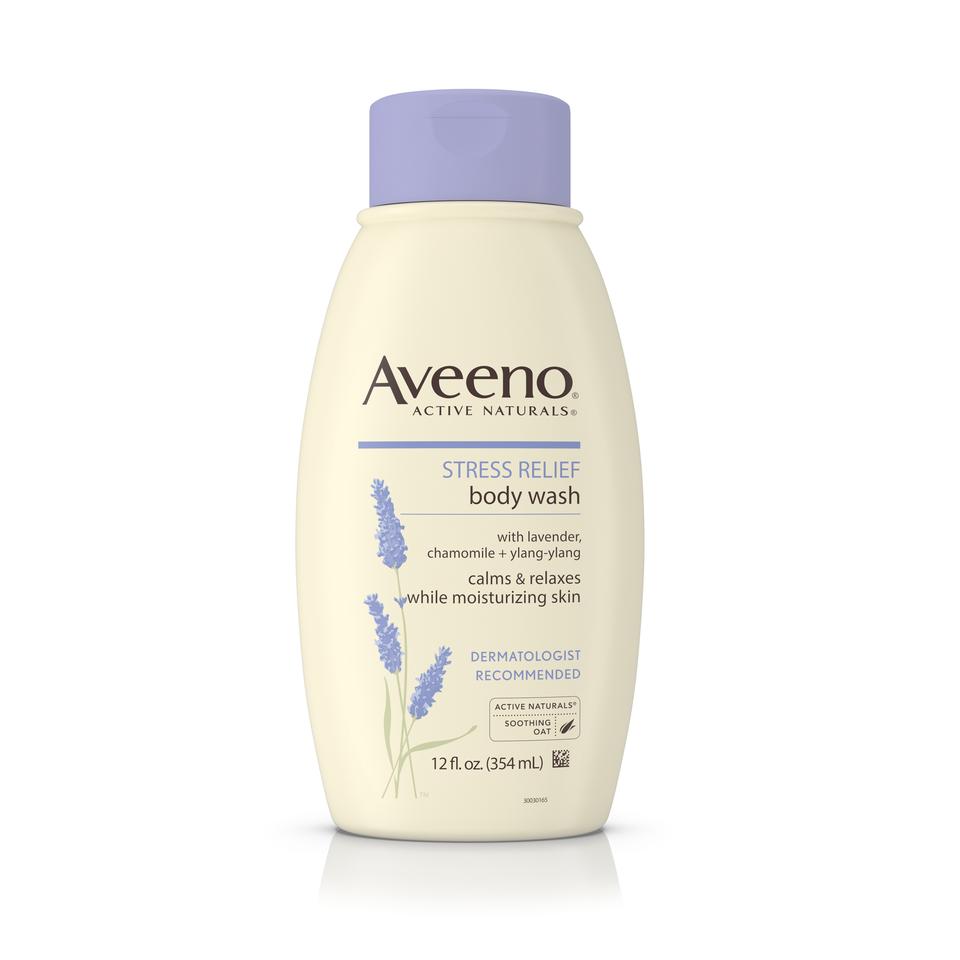 Aveeno Active Naturals Stress Relief Body Wash.