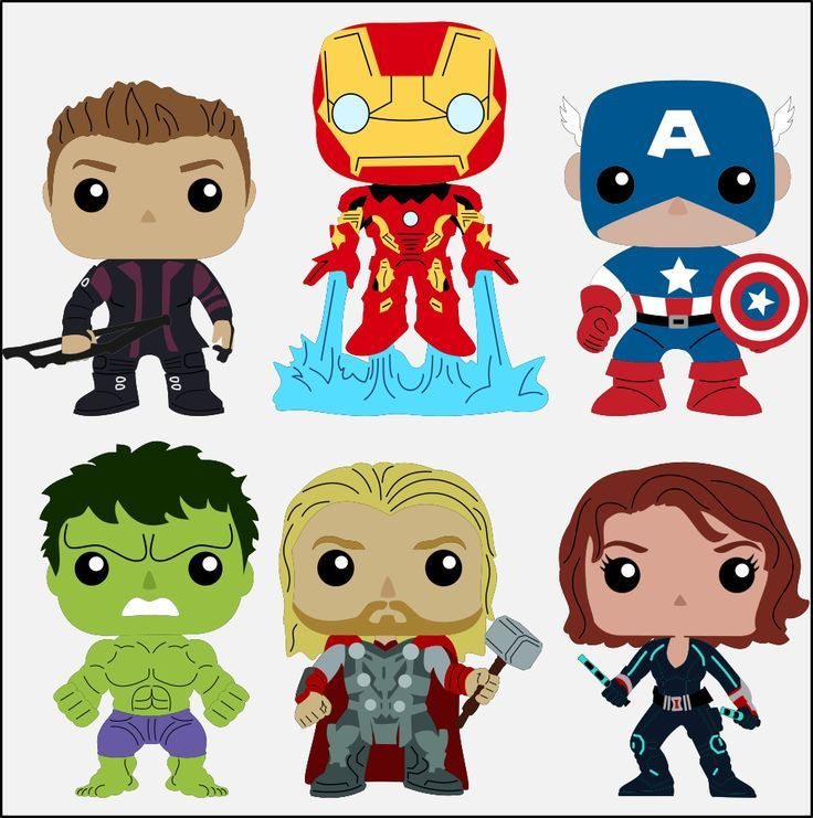 86 Awesome free marvel avengers clip art.