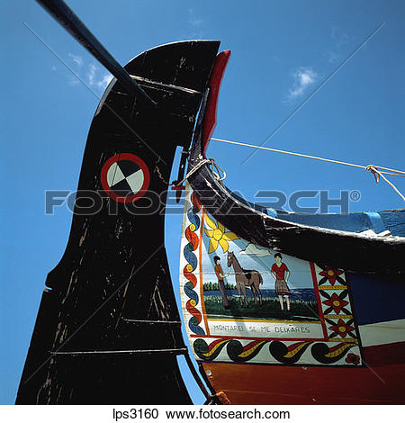 Stock Photography of 11 Portugal Aveiro Lagoon Rudder Of A.