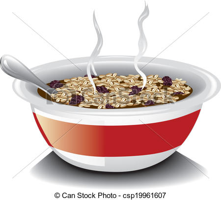 Oatmeal Can Clipart.
