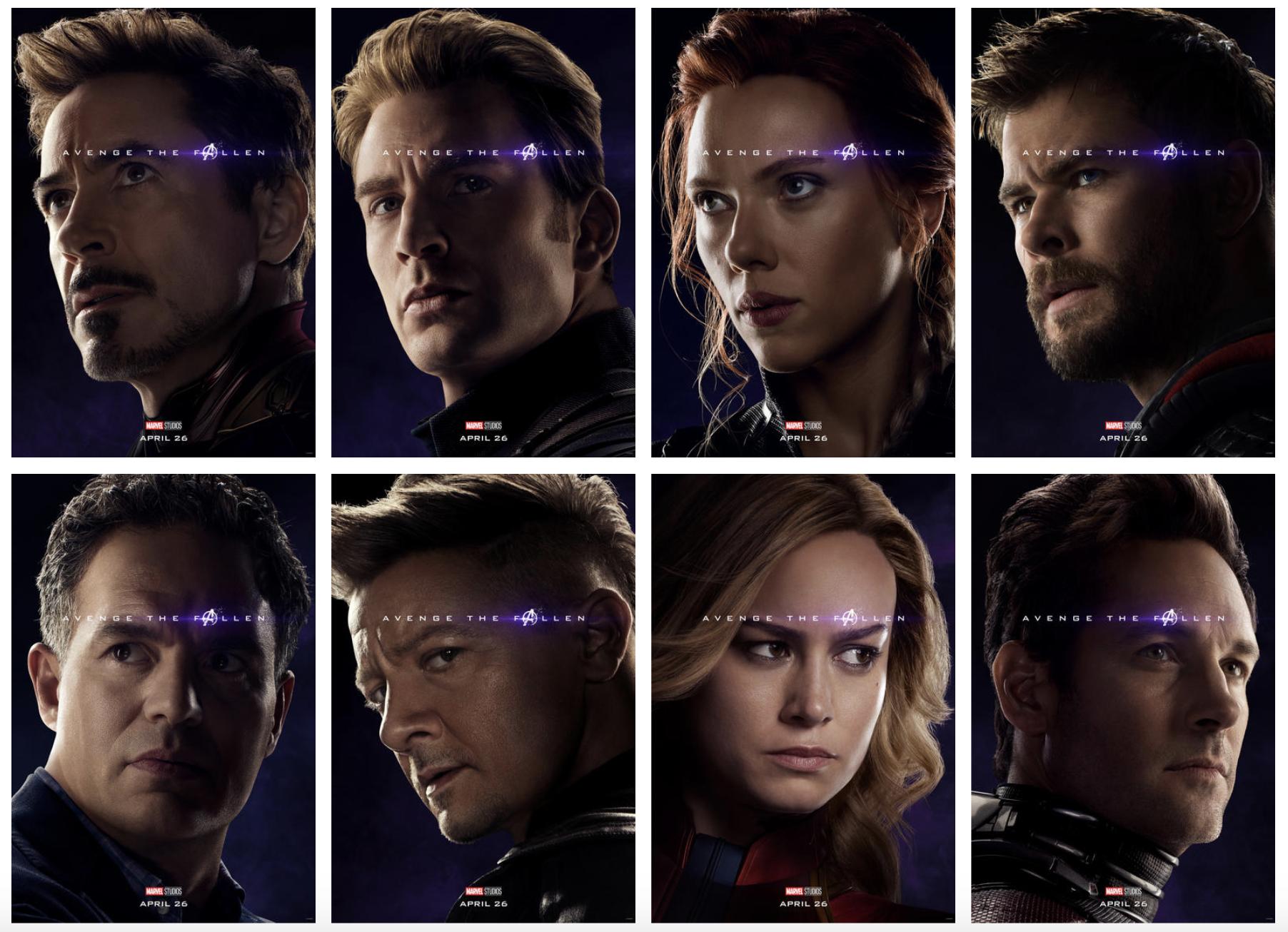 Avenge the Fallen Meme: New 'Avengers: Endgame' Posters Inspire.