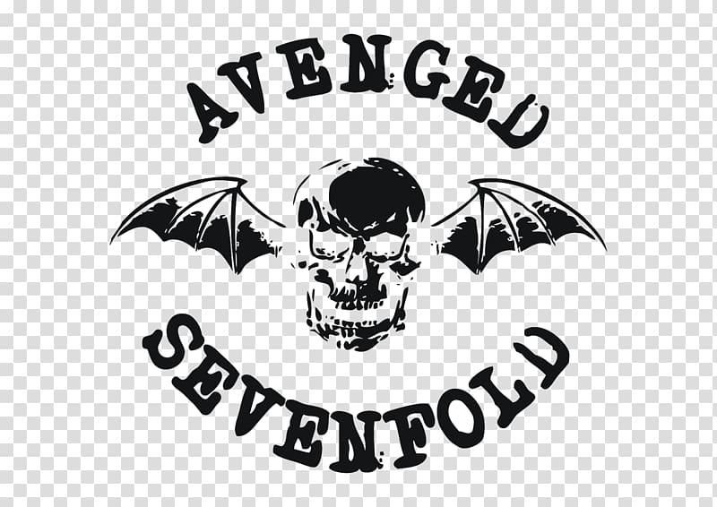 Avenged Sevenfold Logo Rock Band, rock band transparent.