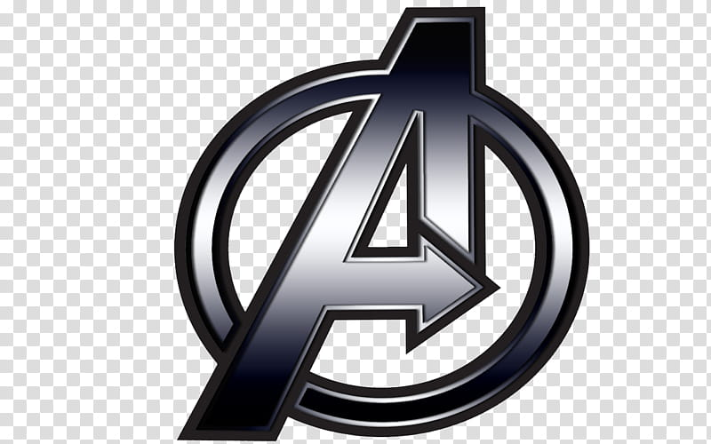 The A, Avengers logo transparent background PNG clipart.