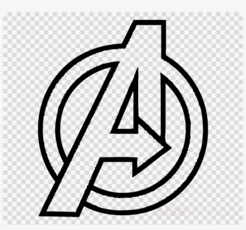 Download Avengers Infinity War Logo Drawing Clipart.