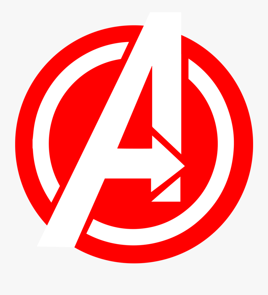 Transparent Avengers Logo Clipart.