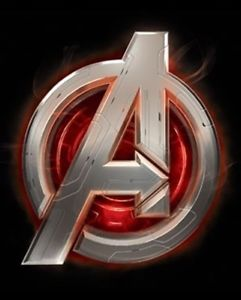 Details about Marvel Comics Avengers Age of Ultron Movie, Assemble A Logo  T.