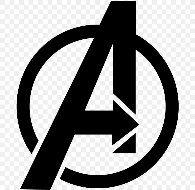 The Avengers Logo Decal Sticker Stencil, PNG, 800x800px.