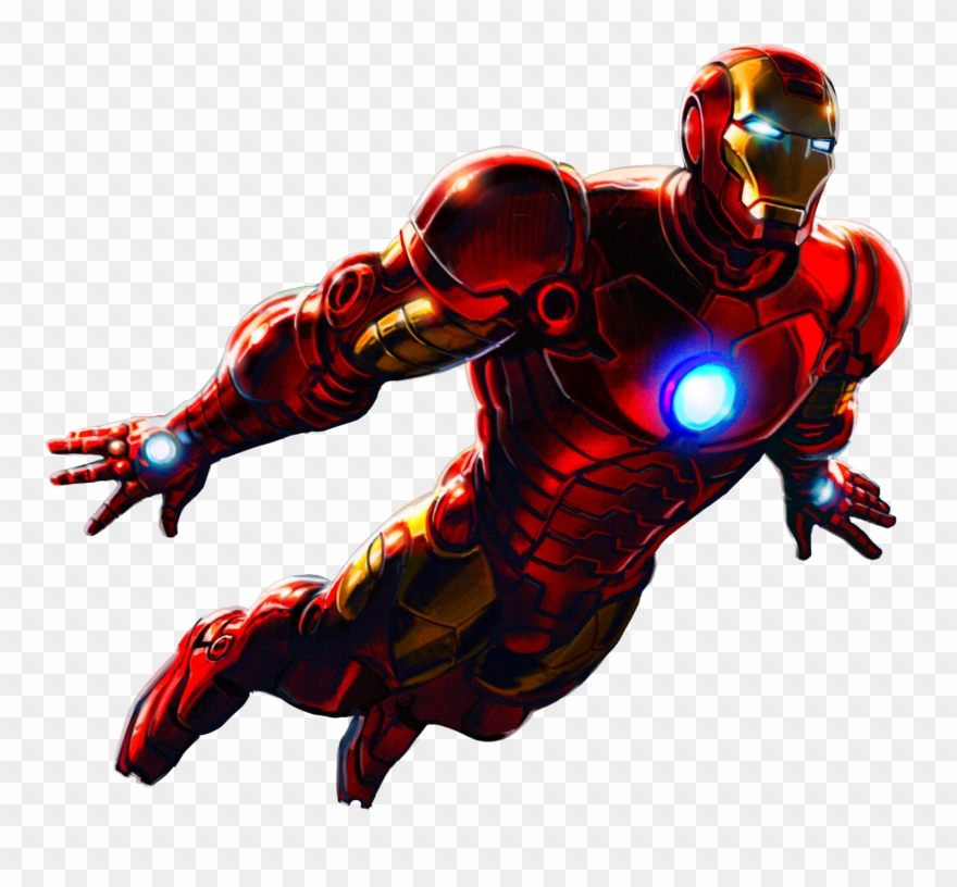 Iron Man Marvel Avengers Clipart (#681195).