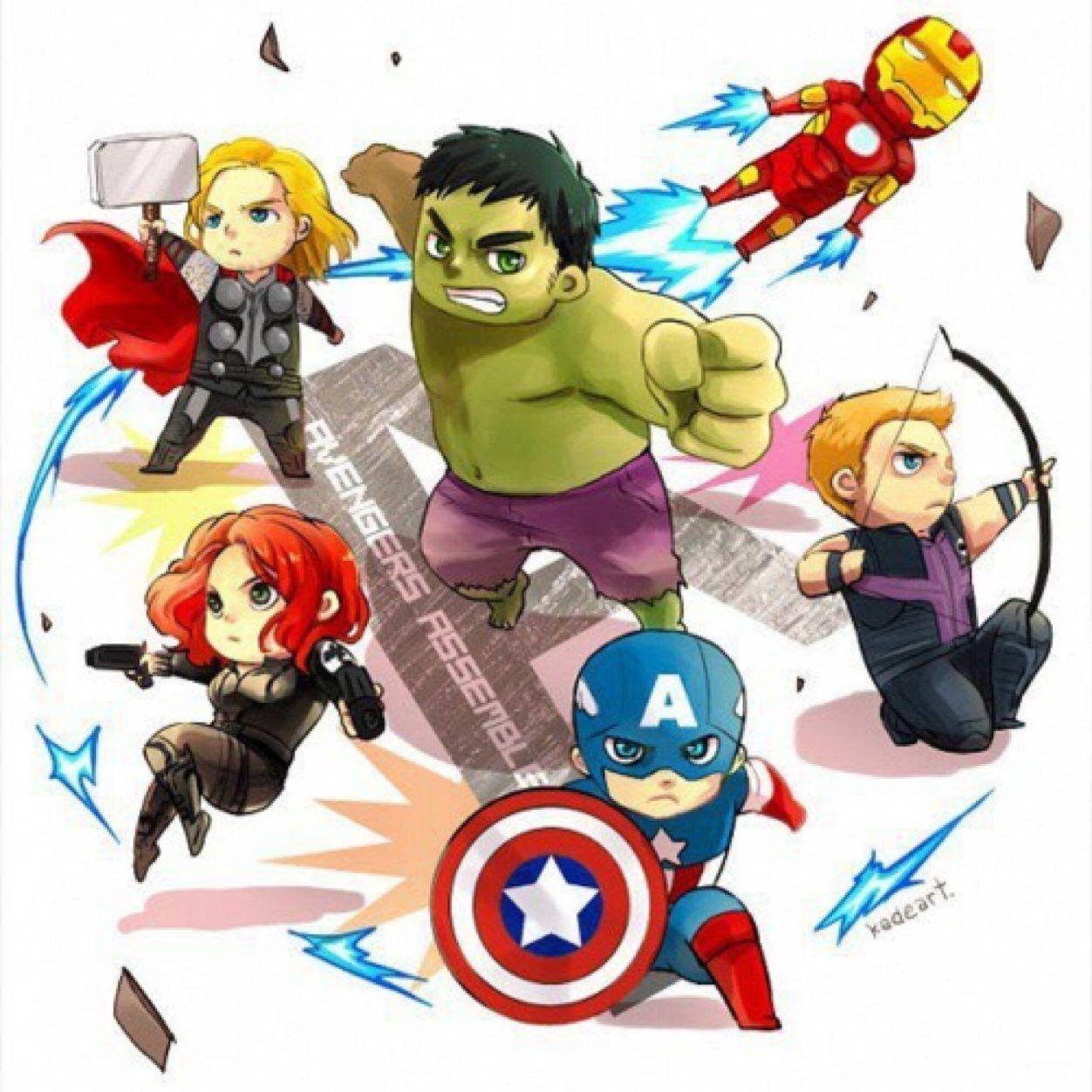 86+ Avengers Clipart.
