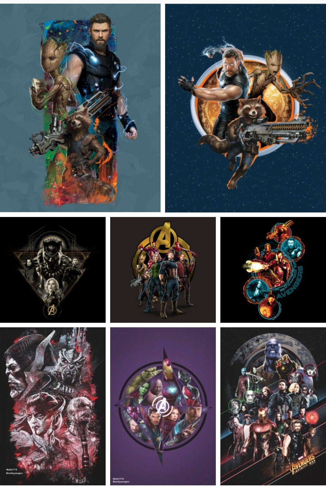 Avengers Infinity War Clip Arts.