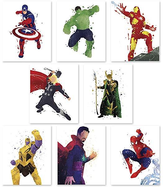PGbureau Superhero Wall Poster.