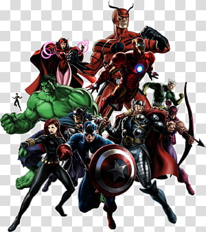 Avengers PNG clipart images free download.
