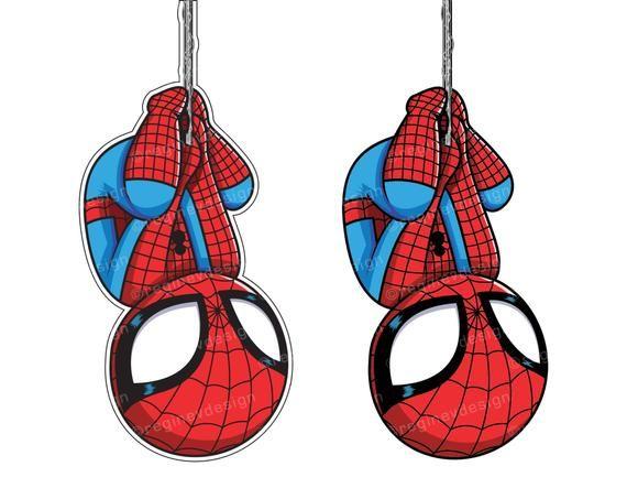 Spiderman Clipart Sticker Avengers Marvel Superhero.