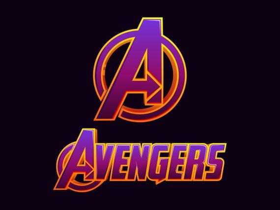 Avengers Endgame vector logo digital download, Downloadable and.