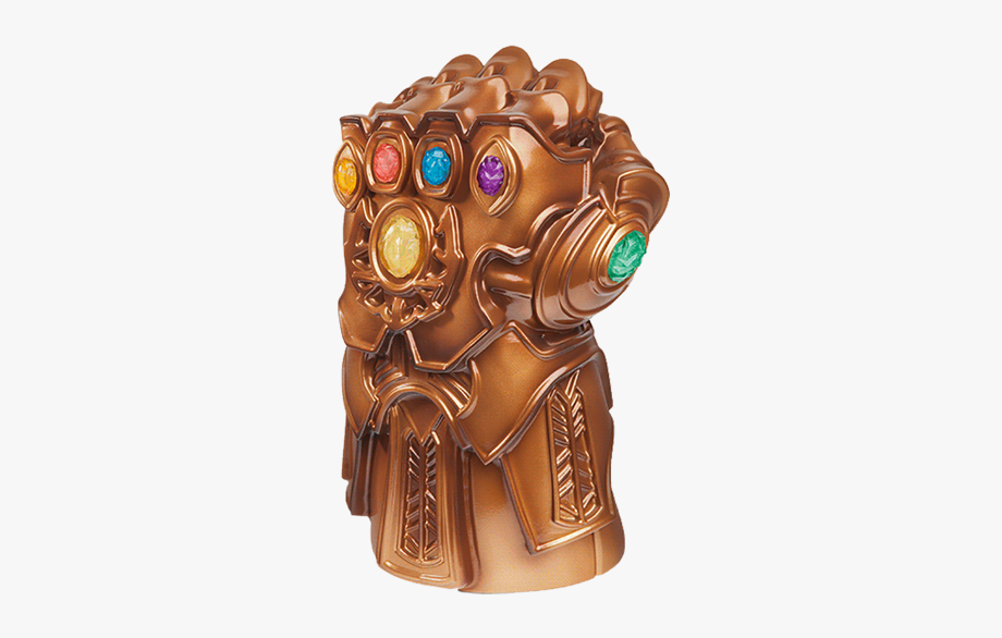 Thanos Infinity Stone Gauntlet Transparent Png.