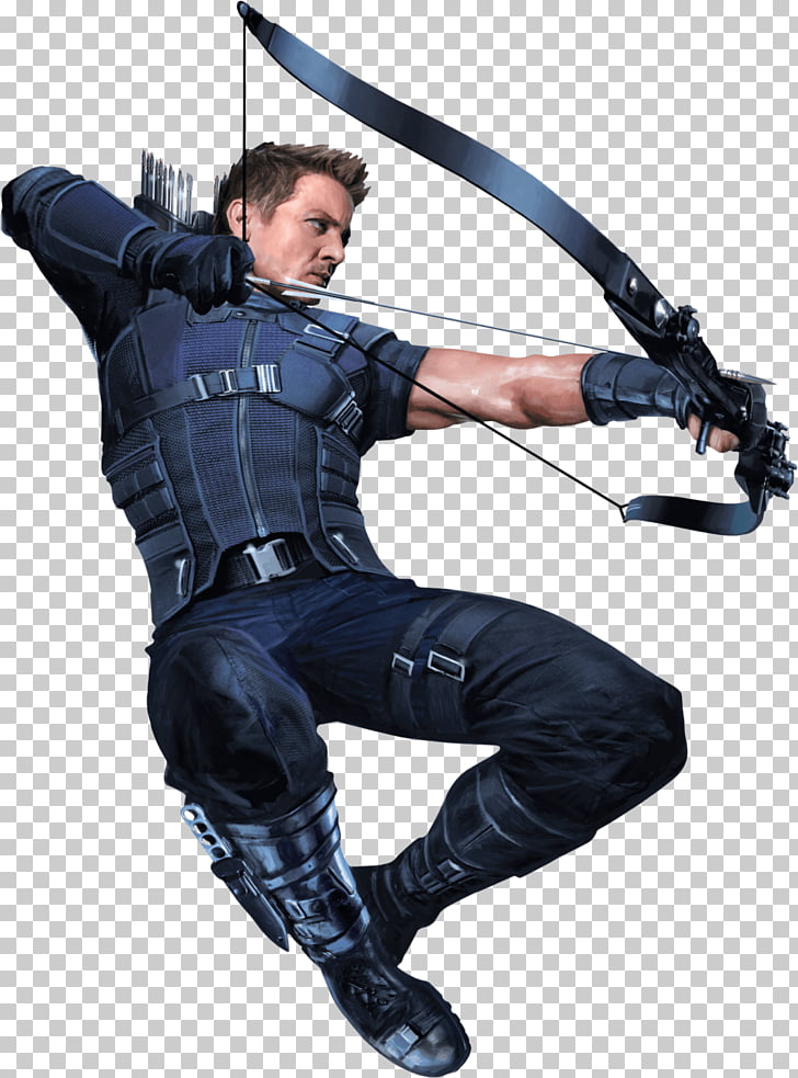 Hawkeye Right, character from avengers PNG clipart.