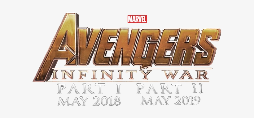 Avengers Infinity War Logo.