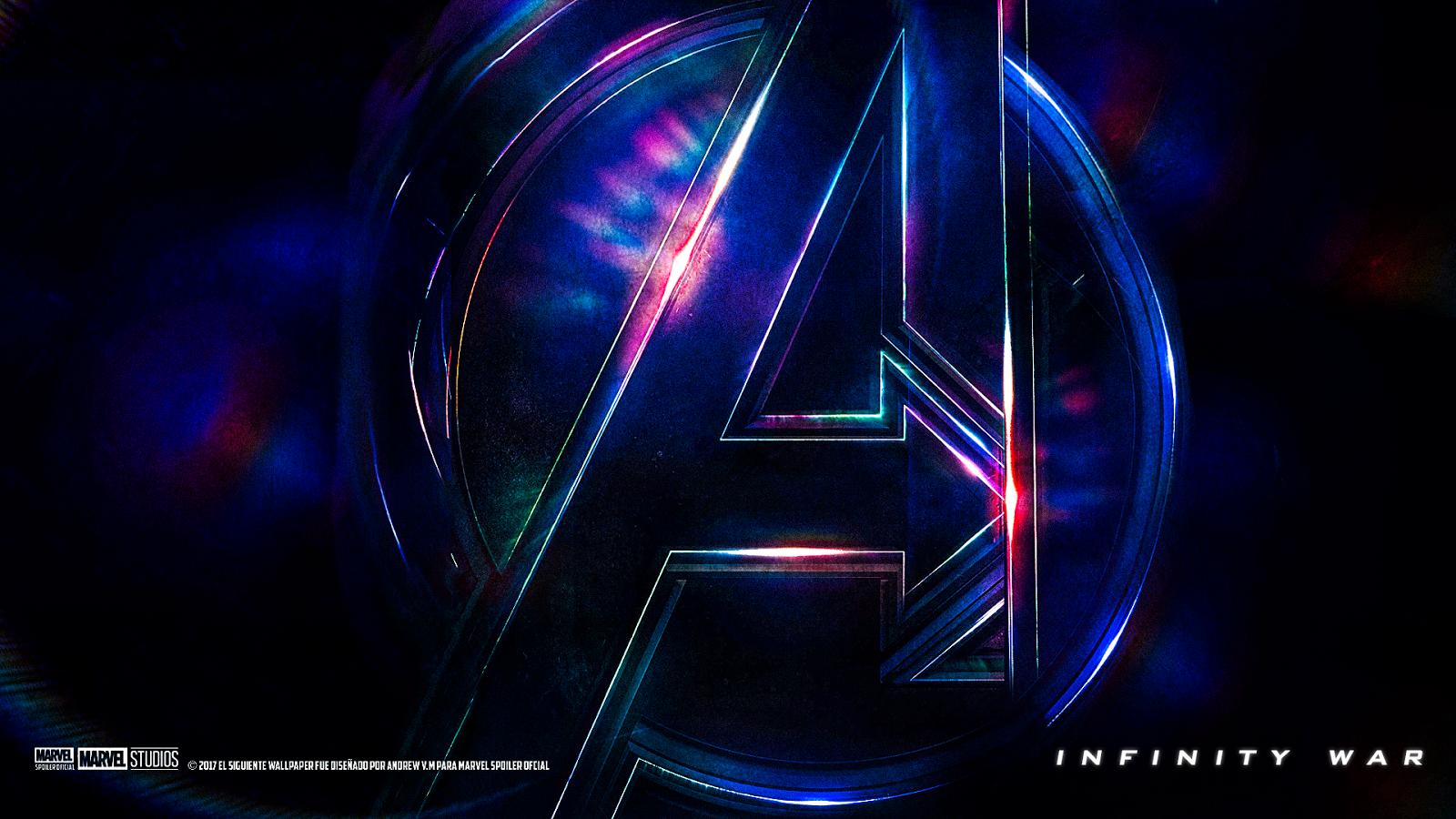 Avengers Infinity War Wallpaper Logo.