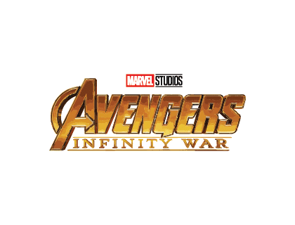Avengers Infinity War Logo Vector.