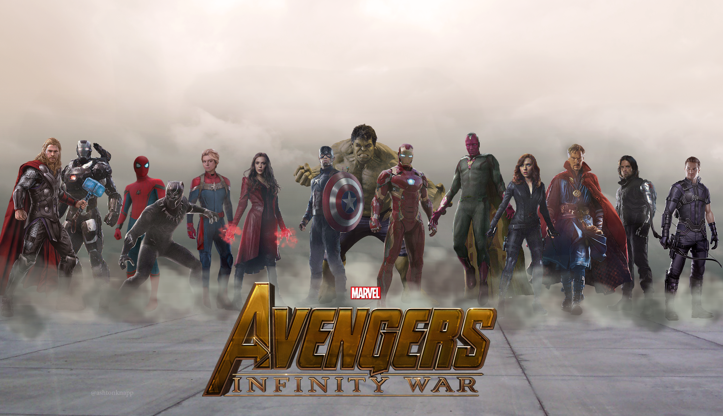 I made an Avengers: Infinity War poster! : marvelstudios.