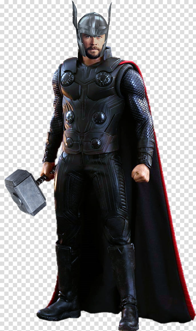 Thor Avengers Infinity War transparent background PNG clipart.