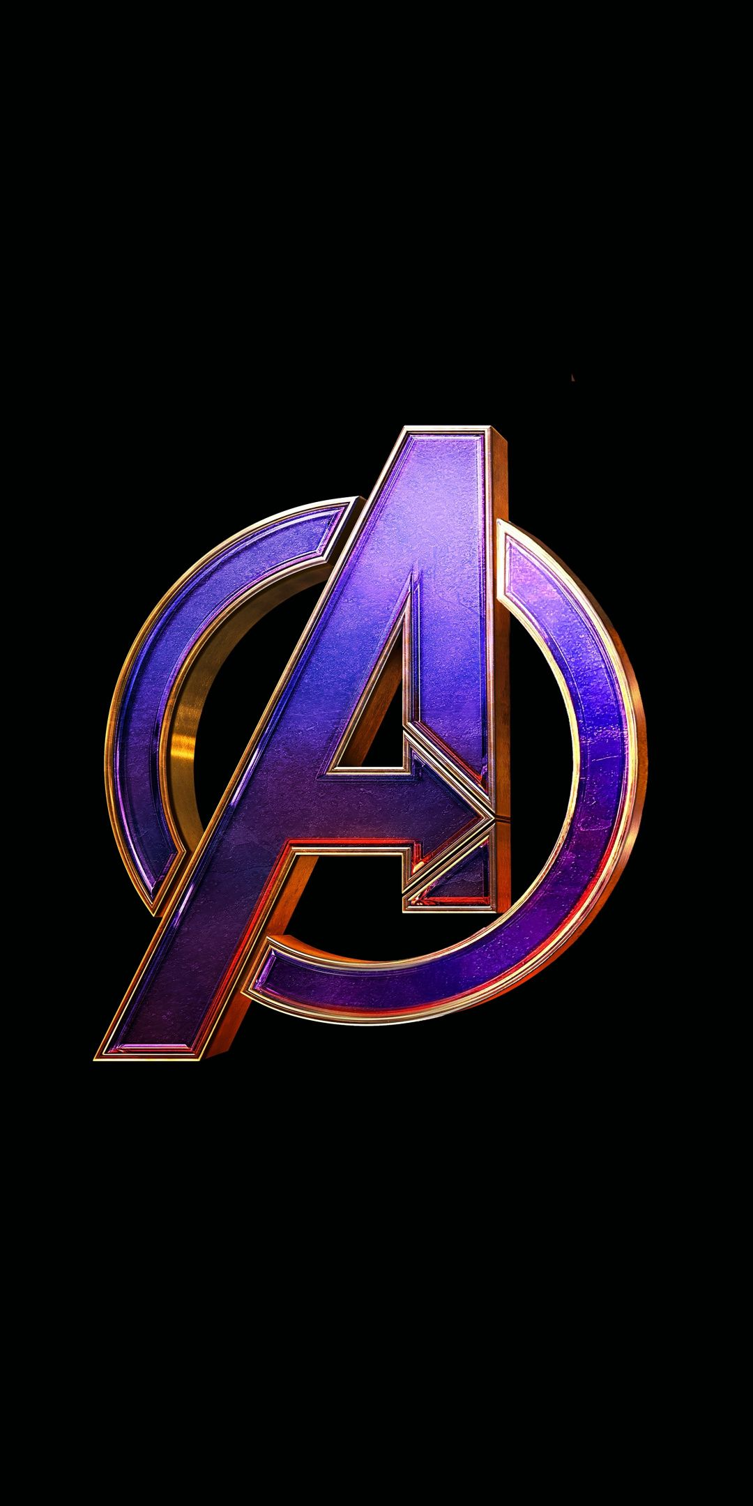 Avengers: Endgame, movie, logo Wallpaper.