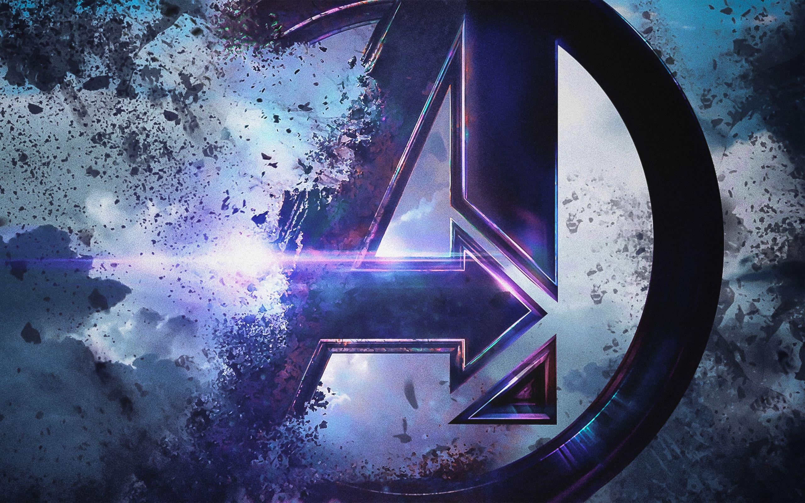 Avengers Endgame Logo Wallpapers.
