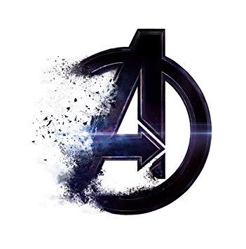 Decor Kafe Vinyl Avengers Endgame Logo Wall Sticker (52 cm x 50 cm).